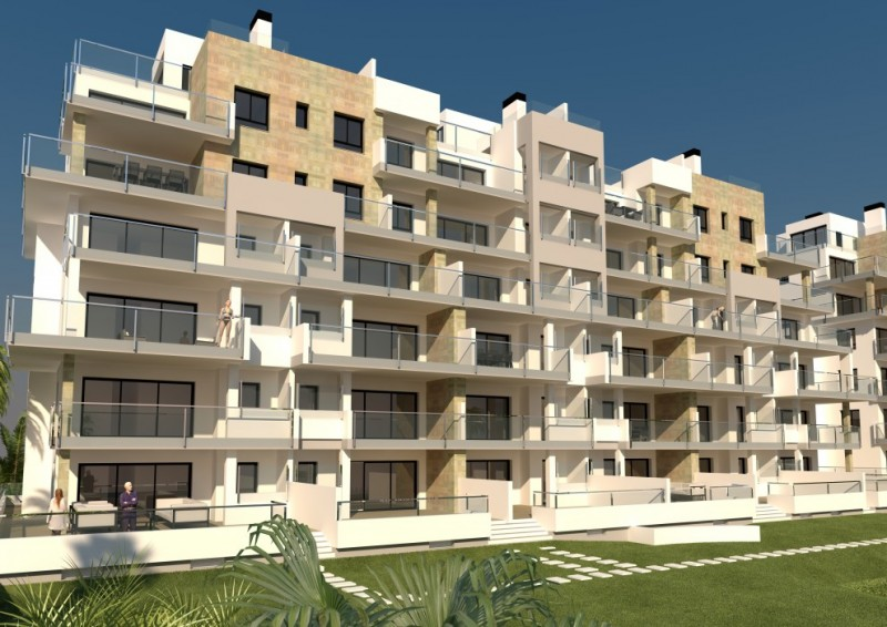 new build apartments mil palmeras