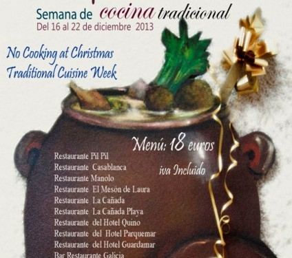 No Cooking at Christmas in Guardamar del Segura
