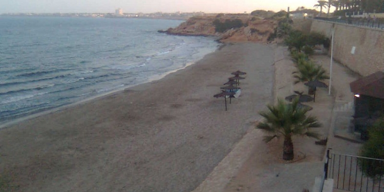 Playa Flamenca on the Orihuela Costa, Spain