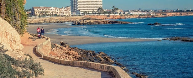 Morning Coastal Walk fron La Zenia to Cabo Roig