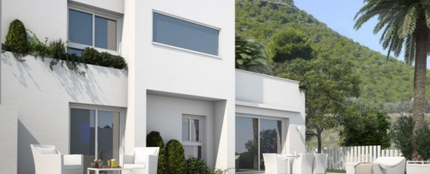 New Build Villas in Guardamar with Sea Views