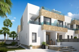 Townhouse for sale - New Property for sale - Orihuela Costa - Los Dolses