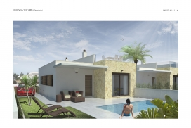 Villa for sale - New Property for sale - Ciudad Quesada South - Pueblo Bravo